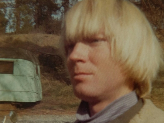 A photograph of Felix Vail in the 1970s