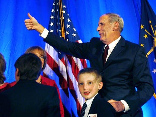 Dan Coats, Republican candidate for United States Senate,