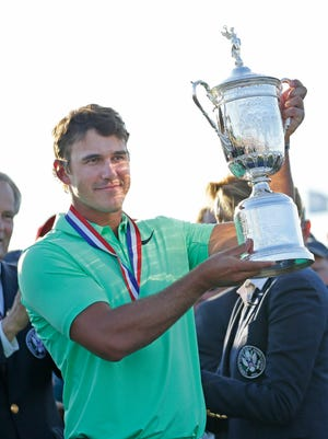Brooks Koepka, who won the U.S. Open at Erin Hills, will be playing in his first tournament since then at this week's British Open.