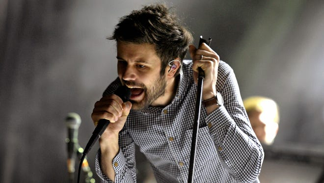Passion Pit performing live at McDowell Mountain Music Festival in downtown Phoenix on Friday, March 27.
