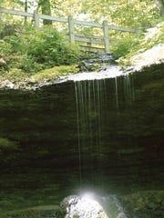 Bridal Veil, Pikes Peak State Park.