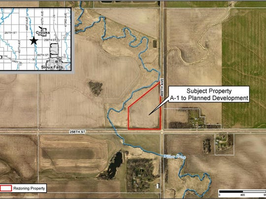 Hope Harbor was going to build its all boys facility in Minnehaha County last year. This is where it would have been built.