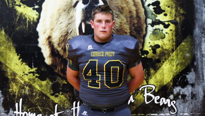 Church Point senior defensive tackle Ben Henry hopes to spearhead an improved defense this fall.