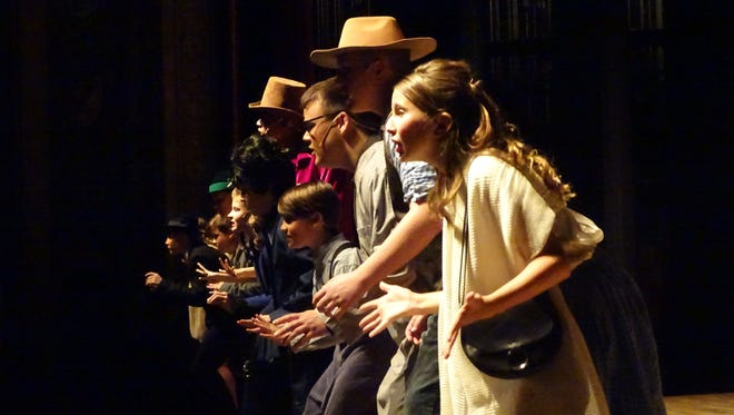 """The Marion Palace Theatre is putting on the musical """"Willy Wonka, Jr."""" this weekend."""