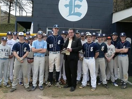 Enka baseball player Jack Ponder is the latest winner of the Mission Health Spotlight Performance of the Week award.