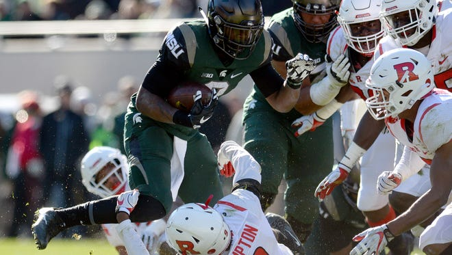 Michigan State and Rutgers, sadly for the Spartans, is becoming a regular late-November matchup.