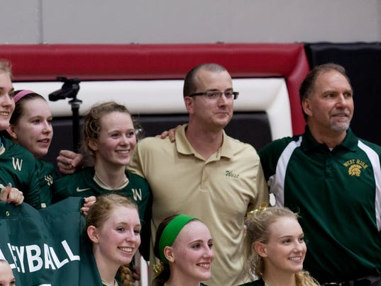 Iowa City West/LinnMar volleyball