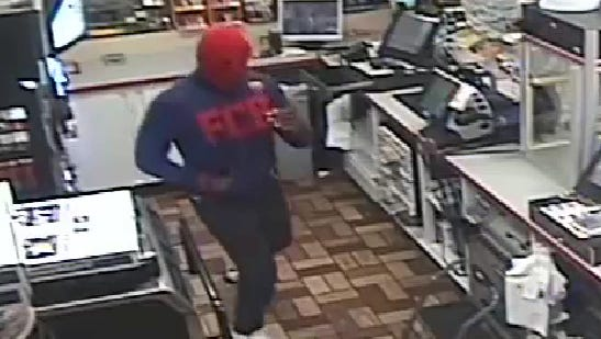 The suspect in a robbery early Thursday, Aug. 17, 2017, at a Sunoco in the Town of Union.