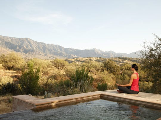 Miraval Meditation is a popular activity at Miraval resort in Tucson.