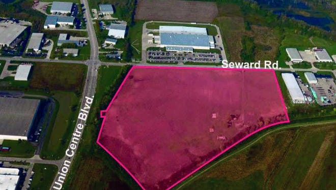 NorthPoint Development plans to construct two buildings to be known as Union Centre Logistics Park at the northeast corner of Seward Road and Union Centre Boulevard.