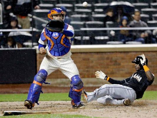 Marlins Mets Baseball (2)