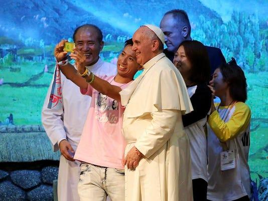 APTOPIX South Korea Pope (3)