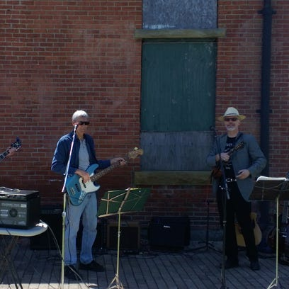 A hobo band plays during the 2015 Hobo Day in Bucyrus.