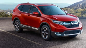 2017 Honda CR-V is longer, wider and will be more powerful