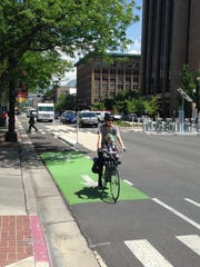 Salt Lake City is expanding its use of protected bike lanes and, as part of that, is set to become among the first U.S. cities with a protected intersection for bicyclists.