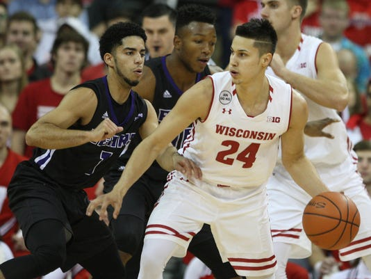 NCAA Basketball: Central Arkansas at Wisconsin