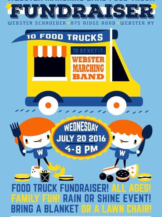 Webster Marching Band Food Truck