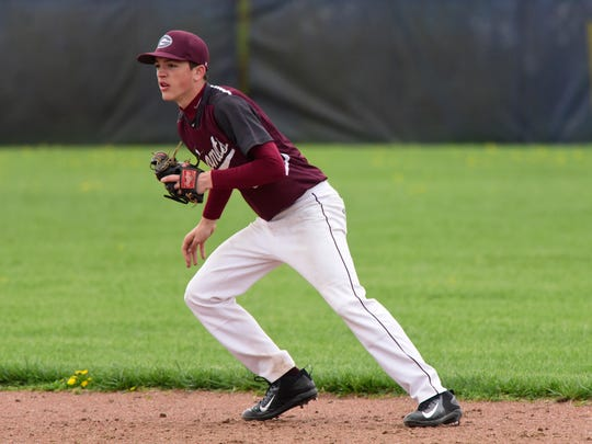 Genoa second baseman Sam Sutter started two double plays in a win over Woodmore.