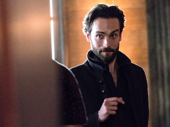 Tom Mison plays Ichabod Crane on Fox's 'Sleepy Hollow.'