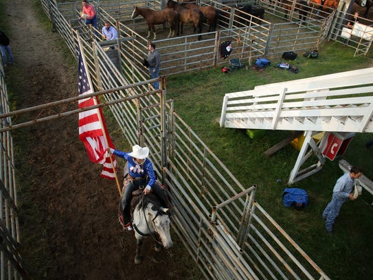 The Mid-Western Rodeo in Manawa is a Fourth of July