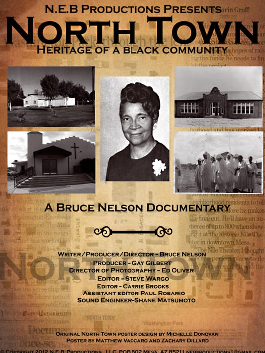 Bruce Nelson - North Town Poster