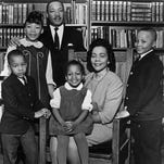 The King family in 1966 in a last official portrait.