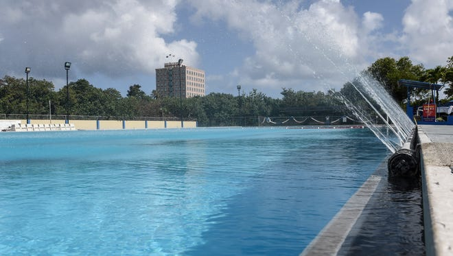 The Hagåtña Pool is reopened on April 19, after undergoing seven months of renovations.