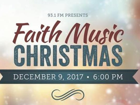 Faith Music Christmas will have one performance this