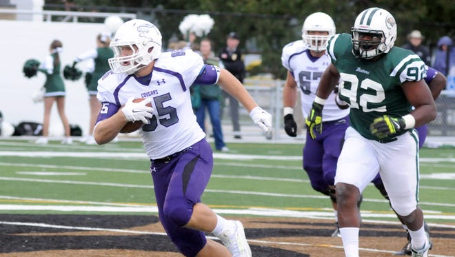 Tight end Nick Stanke and USF open the season Thursday night in Duluth