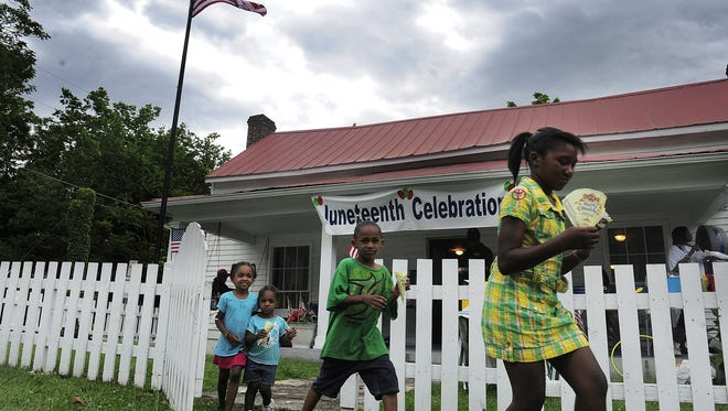 A Juneteenth celebration will be held at the McLemore House in Franklin on Saturday, June 17.