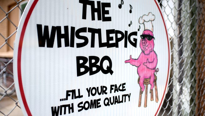 The Whistlepig BBQ, a seasonal restaurant in Charlotte, is open only on Fridays and Saturdays.
