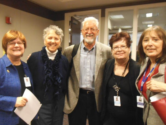 Mary Liveratti, Donna Clontz, Larry Weiss, Barbara Deavers, Connie McMulle.JPG