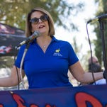 Did McCain staffer nearly knock over Kelli Ward's mom?
