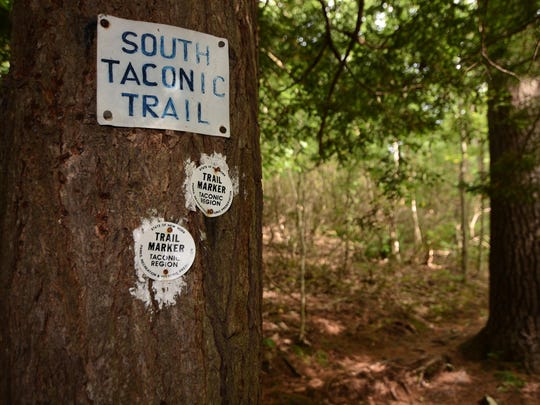 South Taconic trailhead.