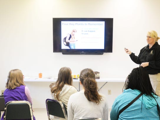 An Internet Safety training by the YWCA and state police.