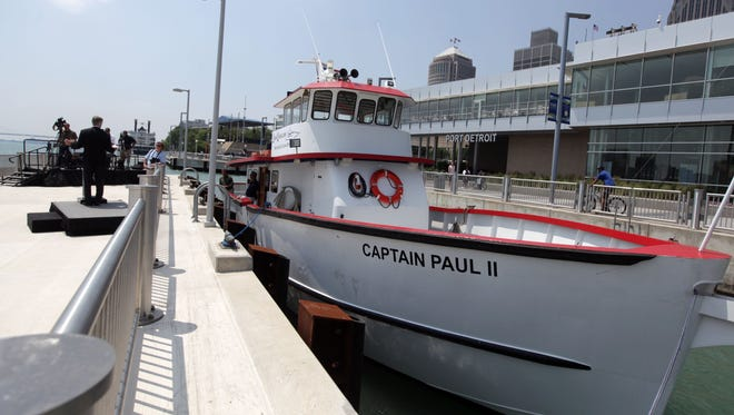 Liquid Limos' ferry service pictured in Detroit, Thursday, May, 24, 2012.