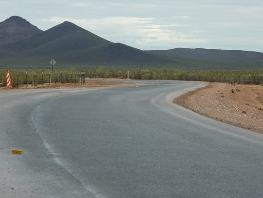 Doña Ana County officials say a project to pave a southern
