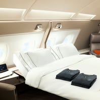 "Swivel chairs, double beds, 32"" TVs: Check out Singapore Air's swanky new 'suites'"