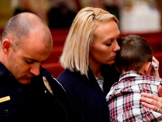Morgan Overton, wife of Knox County Sheriff officer