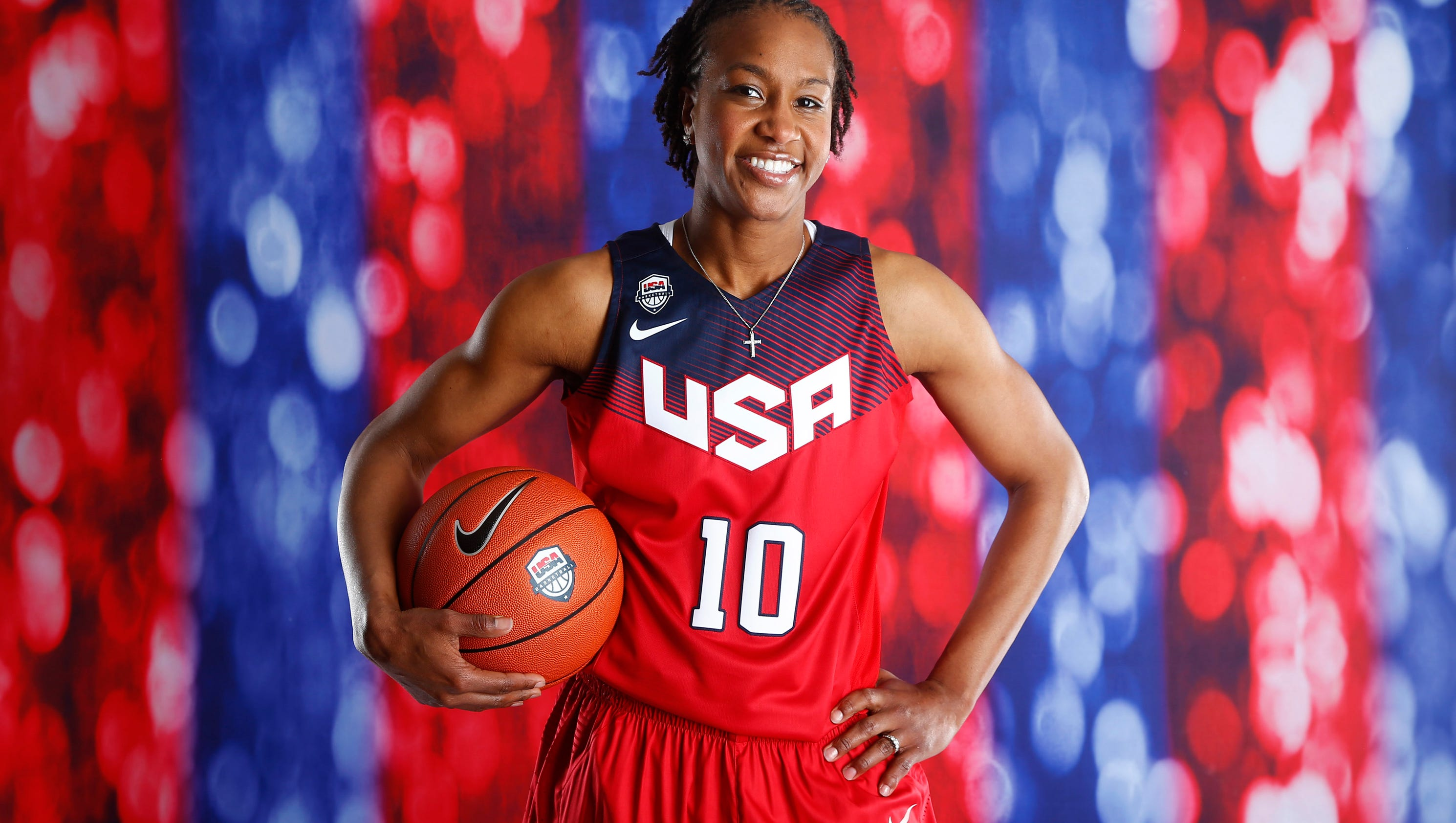 Toady 1 Tamika Catchings will ...