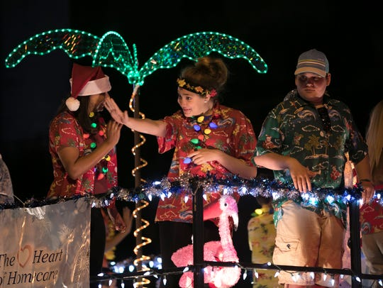 The 58th annual Stuart Christmas Parade is Friday.