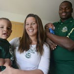CSU linebacker Shaquil Barrett splits time as a father and athlete