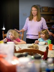 Kim Hilton has enlarged her family with adopted and