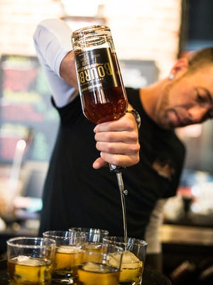 David Stein, president and founder of Hidden Still Spirits, had the goal in mind of making his own bourbon when he started Hidden Still. On Saturday, April 1, 2017 that dream became a reality when they released their bourbon to the public.