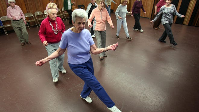 It is important to exercise as you age to keep your bones strong.