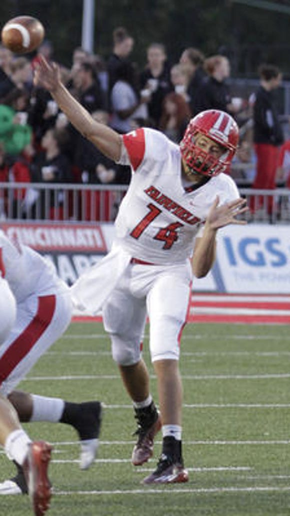 Fairfield QB Hunter Krause committed to Davenport University