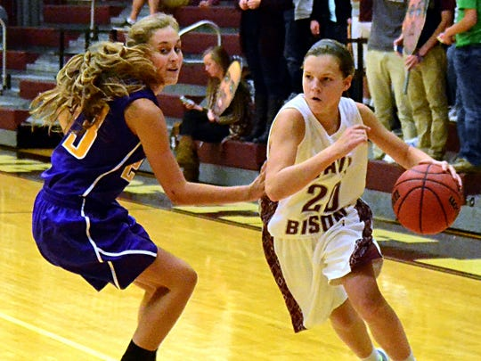 Sophomore guard Jane Deason (20) will step into a starting