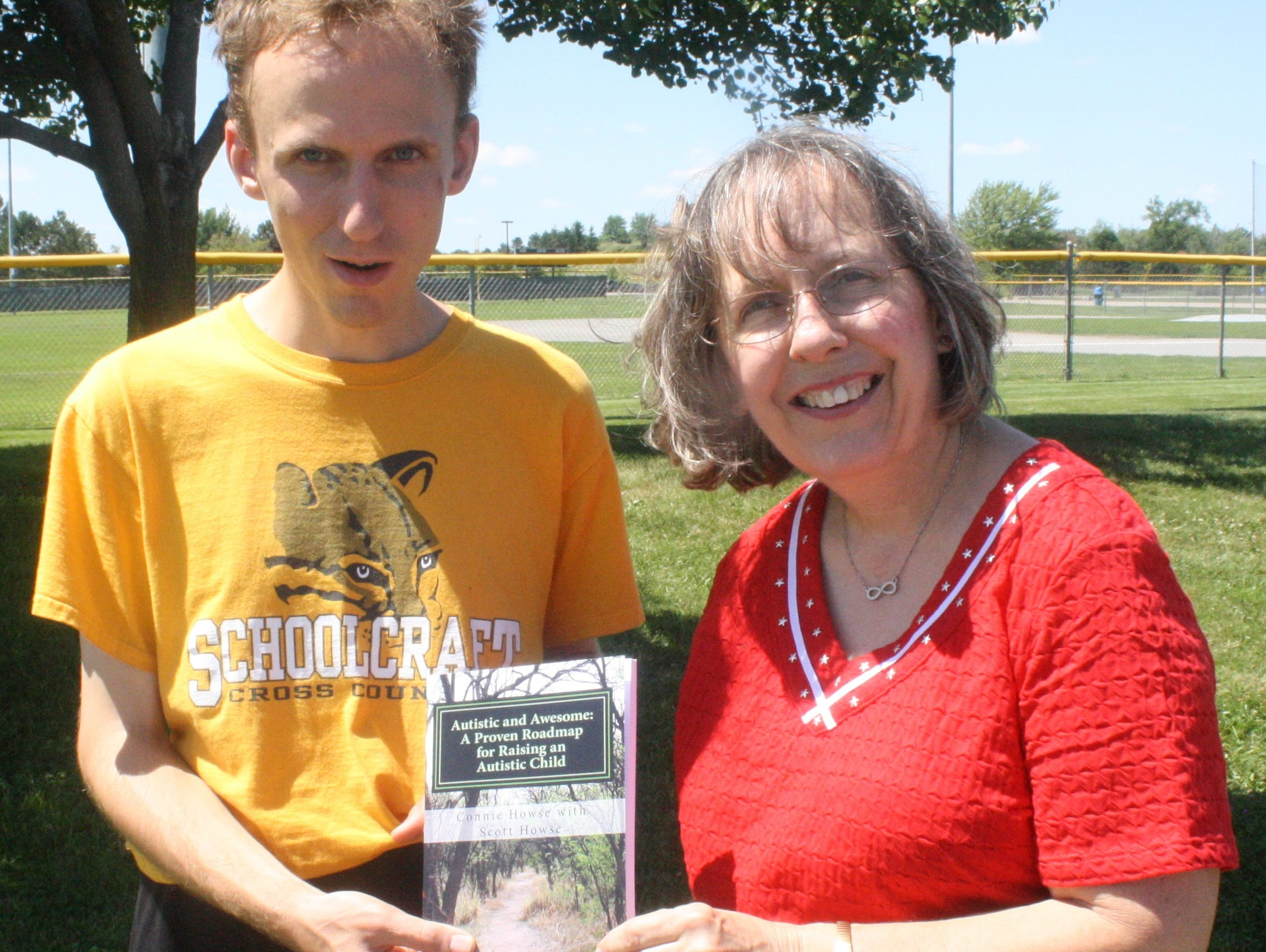 Scott and Connie Howse recently co-authored a book that offers advice on living with autism.