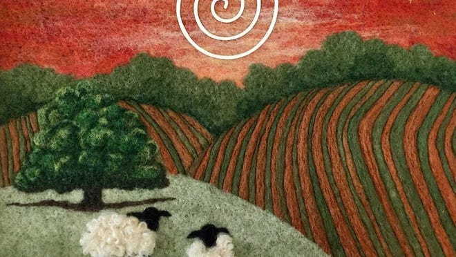 """""""Cheers for 20 Years: Past and Present"""" at Gallery Forty-One in Owego will feature a selection of artists from throughout its history, including fiber artist (and current member) Ann Laczak."""