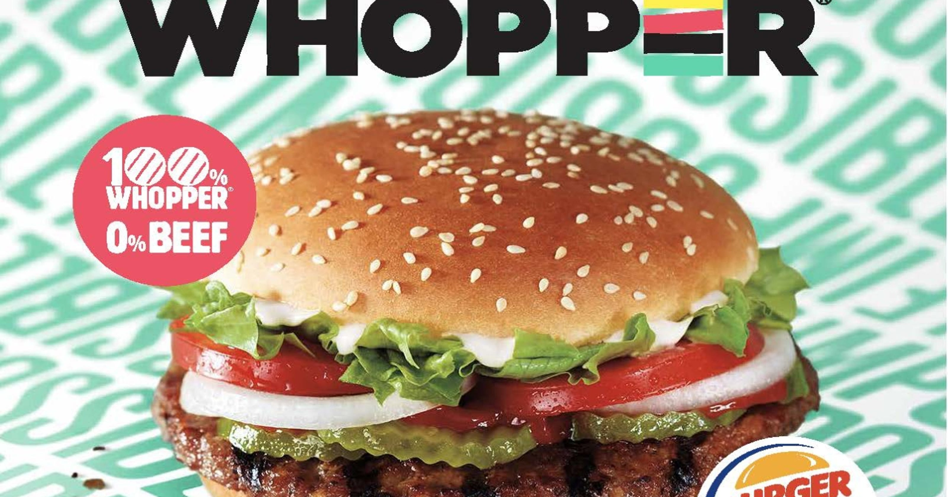 Burger King Impossible Whopper: Vegan burger to be released